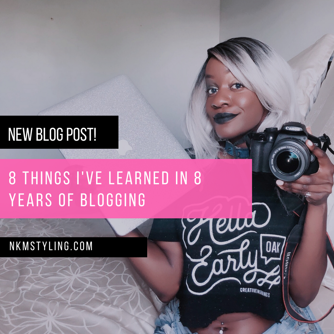 8 Things I've Learned in 8 Years Of Blogging